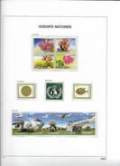 2010 MNH UNO Wien Year Complete According To DAVO Album, Postfris** - Wien - Internationales Zentrum