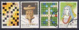 BELGIË - OBP - 1995 - Nr 2592/95 - Gest/Obl/Us - Belgique