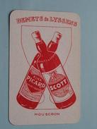DEMETS & LYSSENS Mouscron / SCHOPPEN 7 ( Zie Foto´s Voor En Achter ) !! - Playing Cards (classic)
