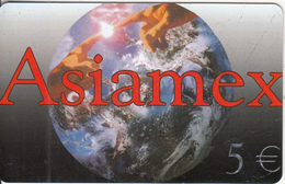 GREECE - Asiamex, Amimex Prepaid Card 5 Euro, Tirage 50000, Sample - Greece