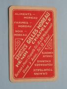 Comptoir Agricole Gilles MOREAU HENRI - CHAPELLE - AUBEL / SCHOPPEN Heer ( Zie Foto´s Voor En Achter ) !! - Playing Cards (classic)