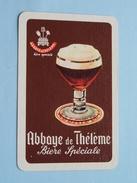 Abbaye De Thélème Bière Spéciale / KLAVEREN 4 ( Zie Foto´s Voor En Achter ) !! - Playing Cards (classic)