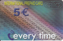 GREECE - Every Time, Amimex Prepaid Card 5 Euro, Tirage 4000, Sample - Greece