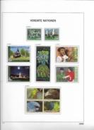 2011 MNH UNO Wien Year Complete According To DAVO Album, Postfris** - Wien - Internationales Zentrum