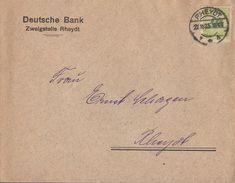 DR Ortsbrief EF Minr.328 Rheydt 27.11.23 - Deutschland