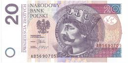 Pologne, 20 Zlotych, 2012, 2012-01-05, KM:184, NEUF - Pologne