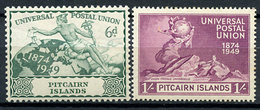 1949 - PITCAIRN INSLANDS - Catg. Mi. 17-18 - LH - (CW2427.02) - Francobolli