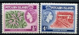 1957 - PITCAIRN INSLANDS - Catg. Mi. 20+25 - NH - (CW2427.02) - Pitcairn