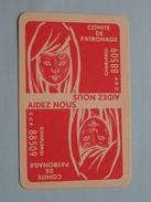 Comite De Patronage CHARLEROI Aidez Nous / HARTEN 3 ( Zie Foto´s Voor En Achter ) !! - Playing Cards (classic)