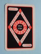 Genievre SEVERY Hasselt 1852 / KLAVEREN 7 ( Zie Foto´s Voor En Achter ) !! - Playing Cards (classic)
