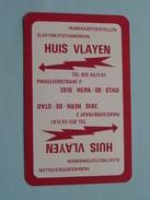 Elektriciteitswerken Huis VLAYEN HERK DE STAD / RUITEN 9 ( Zie Foto´s Voor En Achter ) !! - Playing Cards (classic)