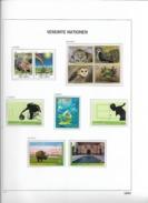 2012 MNH UNO Wien Year Complete According To DAVO Album, Postfris** - Wien - Internationales Zentrum