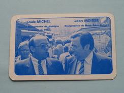 Louis MICHEL - Jean MOISSE / PRL - Harten 8 ( Zie Foto´s Voor En Achter ) !! - Playing Cards (classic)