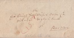 Brief Gel. Von Leobschütz Am 28.9.1816 Nach Breslau Mit Inhalt - Deutschland