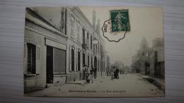 89, EGRISELLE LE BOCAGE, LA RUE PRINCIPALE - Egriselles Le Bocage