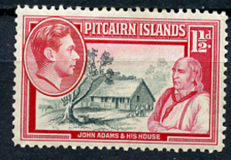 1949 - PITCAIRN INSLANDS - Catg. Mi. 3 - LH - (CW2427.03) - Francobolli