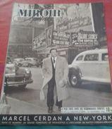 Miroir Sprint N° 27 26 Novembre 1946 Marcel CERDAN à New York Catch à Wagram, Cyclisme Au Vel D'Hiv - Sport
