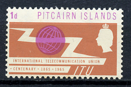 1965 - PITCAIRN INSLANDS - Catg. Mi. 52 - NH - (CW2427.04) - Pitcairn