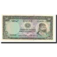 Portuguese Guinea, 50 Escudos, KM:44a, 1971-12-17, NEUF - Guinea-Bissau