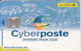 FRANCE - Cyberposte, La Poste Internet Card, Used - Frankreich