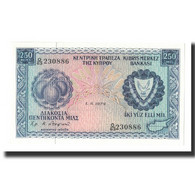 Chypre, 250 Mils, 1979-06-01, KM:41c, NEUF - Chypre