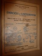 1957 Exercices De Cartographie- Terres Et Mers Du Globe--Les 5 Parties Du Globe--Grandes Puissances Du Monde - 6-12 Ans