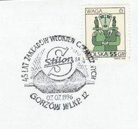 1996 POLAND COVER EVENT Pmk STILON POLYAMIDE 45th Anniv  Chemistry Stamps - Chemistry