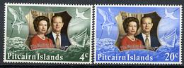 1970 - PITCAIRN INSLANDS - Catg. Mi. 127/128 - NH - (CW2427.08) - Pitcairn