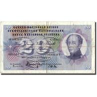 Suisse, 20 Franken, 1959, 1959-12-23, KM:46g, TB - Switzerland