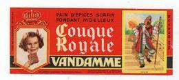 Sept17  79058    Buvard    Vandamme Pain D'épice - Gingerbread
