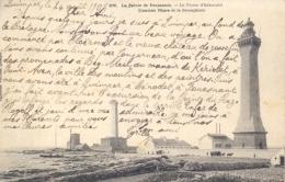France 1903 Picture Postcard La Pointe De Penmarch Le Phare D'Eckmuhl Lighthouse - Vuurtorens
