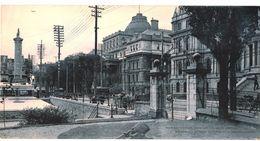 CL N°5 - MONTREAL- PALAIS DE JUSTICE ET MONUMENT NELSON -MAXI CARTE GEANTE - FORMAT 27,8 Cm DE LONG X 14,4 Cm DE HAUT - Montreal