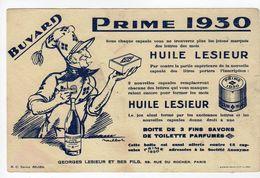 Sept17  79048    Buvard Huile Lesieur - Animals