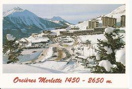 05. CPM. Hautes Alpes. Orcières-Merlette. Vue Générale, Le Champsaur - Orcieres
