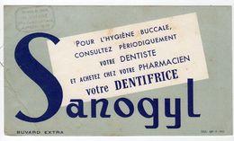 Sept17  79038    Buvard    Dentifrice Sanogyl - Produits Pharmaceutiques
