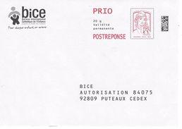 PAP REPONSE CIAPPA BICE N°17P008 - Entiers Postaux