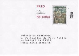 PAP REPONSE: Période Ciappa: Prêtes De L'émmanuel. N°81380 - Entiers Postaux