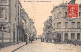 LOUVIERS - Rue De L'Hôtel De Ville - Louviers