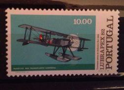 Portugal - 1982  YT 1556 Mi 1577 Scott 1588 Avion Airplane - 1910-... République