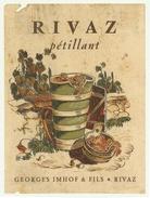 Rare // Rivaz Pétillant, Georges Imhof, Vaud // Suisse - Etiquettes