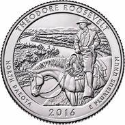 USA EEUU 25 CENTS. QUARTER DOLLAR   THEODORE ROOSEVELT 2016  D O P  A ELEGIR  UNC - PAS CIRCULÉE  - SC - 2010-...: National Parks