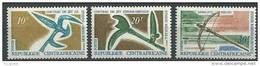 """Centrafrique YT 109 à 111 """" Armes Indigènes """" 1968 Neuf** - Centrafricaine (République)"""
