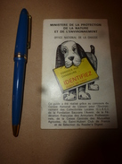 1973  Conseils Aux Chasseurs - Tableau De Chasse Pour La Saison - Espèces Dont La Chasse Est Prohibée - Fischen + Jagen