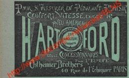 Hartford - Ostheimer Brothers - Paris - Ancienne Coupure De Presse Originale 7.5x4.5cm - Transports