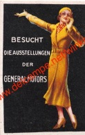 Besucht Die Ausstellungen Der General Motors - Format 4x6cm - Erinnophilie