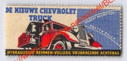 De Nieuwe Chevrolet Truck - Erinnophilie