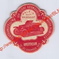 Tentoonstelling Van Kleine Automobielen & Motorrijwielen Amsterdam 1913 - Erinnophilie