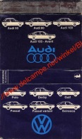 Audi Volkswagen - Pyrogènes