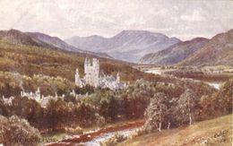 Sutton Palmer  -  Balmoral Castle In The Highlands Of Scotland   -    7349 - Altre Illustrazioni