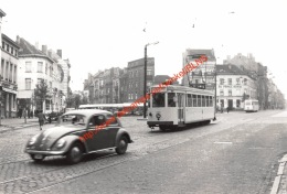Tram Naar Kraainem -Brussel Daillyplein 1955 - Cliché J.Bazin - Photo 13x9cm - Chemin De Fer
